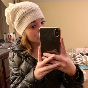 Mossimo Supply Co. Accessories - NWT Mossimo Beanie Winter Hat White